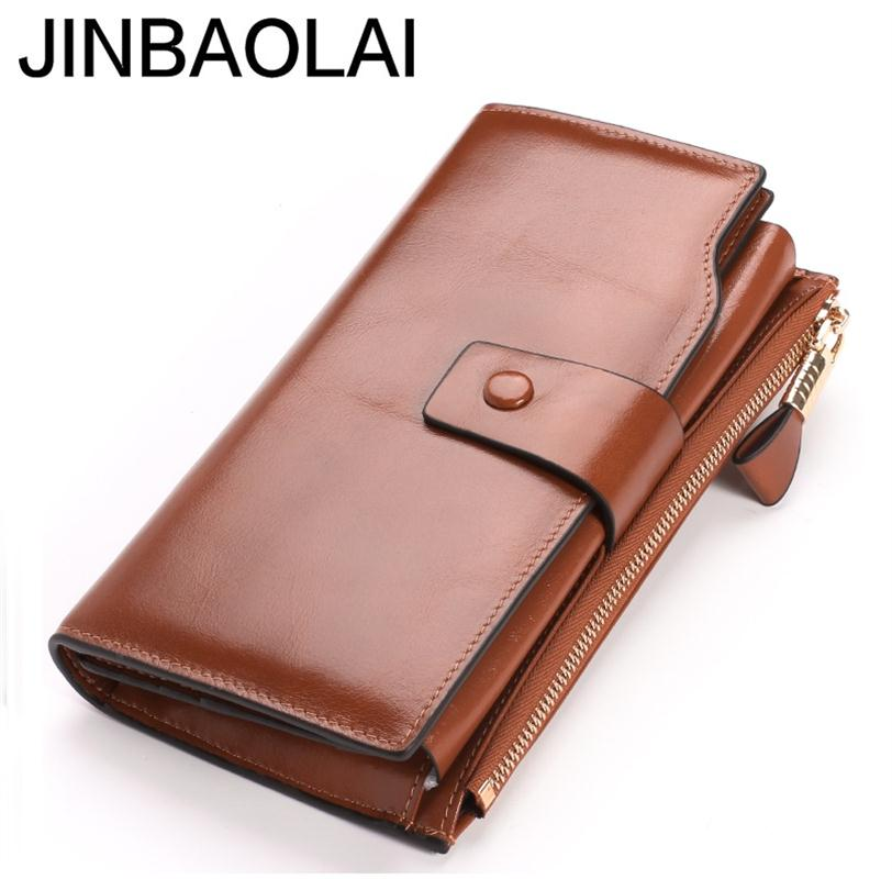 где купить Hot Sale Wallet Brand Coin Purse Split Leather Women's Wallet Purse Wallet Female Card Holder Long Lady Clutch Carteira Feminina по лучшей цене