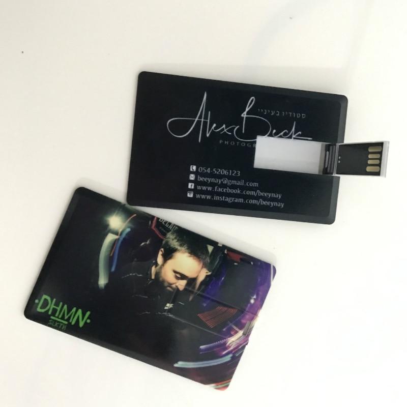 100pic/lot Logo bricolage marque Promotion USB carte Flash lecteur 4G/8G stylo lecteur personnalisé coloré impression Logo cadeau de mariage