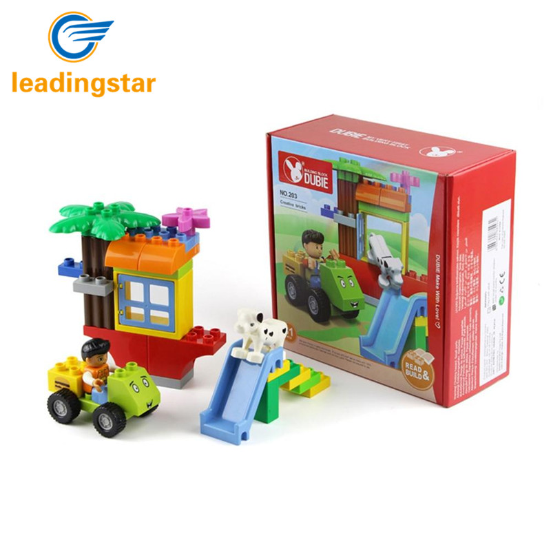leadingstar 31pcs kids intelligence building large blocks assembled toy set for entertainment and educationalchina