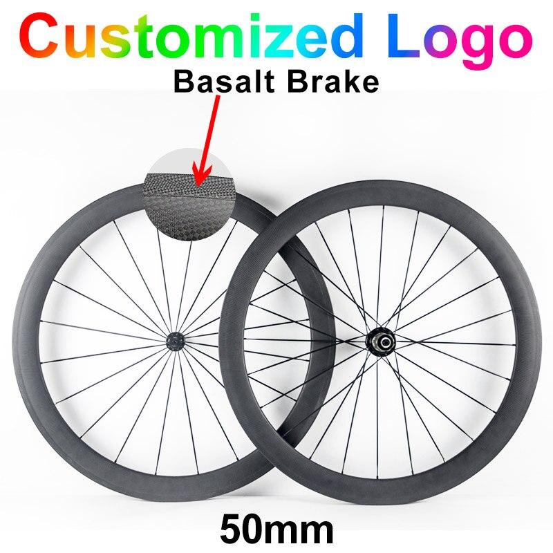 LEADNOVO 38 50 60 88mm 700C 23mm Road Bike Wheels Carbon Fiber Bicycle Wheelset Cycling Wheels