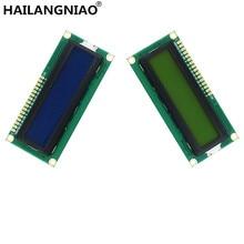 10PCS LCD1602 1602 Modulo LCD Blu/Giallo Schermo Verde 16x2 Carattere Display LCD PCF8574T PCF8574 IIC i2C Interfaccia 5V