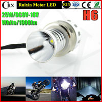 1set 25W 1900lm T6 XBD H6 LED Bulb Bike Motorcycle Headlight Conversion Kit DC8V 18V With