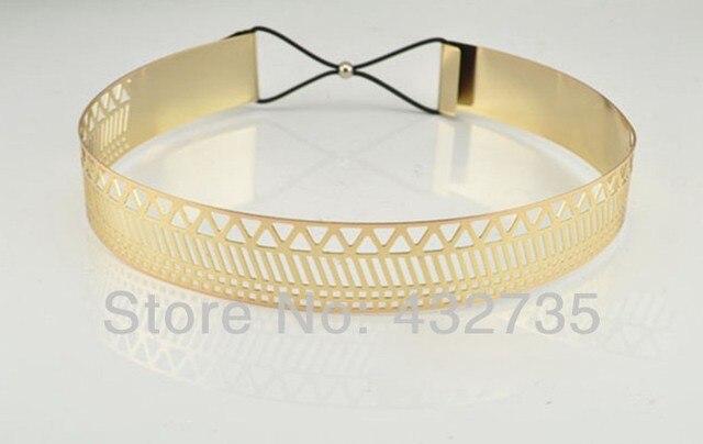 новая мода розничной 2014 cintos femininos полный золота вырез металла ремни с веревкой украшения для женщин старинные платья бесплатная доставка