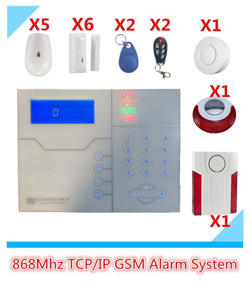 WebIE Control TCP IP Alarm System GSM Alarm System Security Home Alarm System GPRS Alarm System Update software by PC most advanced wireless network tcp ip alarm system sms gsm alarm smart home alarm system with webie and app control