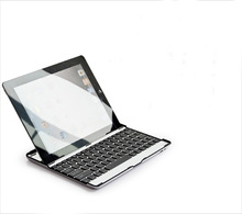 Aluminum Wireless Bluetooth Keyboard Metal Case Cover For Apple iPad 2 3 4 A1395 A1396 A1416