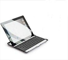 New Aluminum Wireless Bluetooth Keyboard Metal Case Cover For Apple iPad 2 3 4 iPad2 iPad3 iPad4 9.7″ Tablet