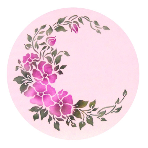 Wild Rose Spray Cake Stencil, Cake Top Stencil, Flower Stencils For  Decoration In Cake Molds From Home U0026 Garden On Aliexpress.com | Alibaba  Group