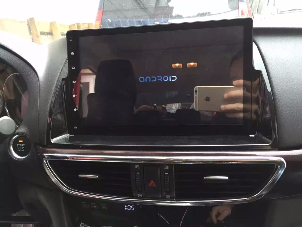 CHOGATH 2 din android 6.1 CAR GPS for Mazda 6 Atenza 2013 2014 2015 2016 autoradio navigation head unit multimedia with canbus パナソニック VL-SGZ30 モニター壁掛け式ワイヤレステレビドアホン