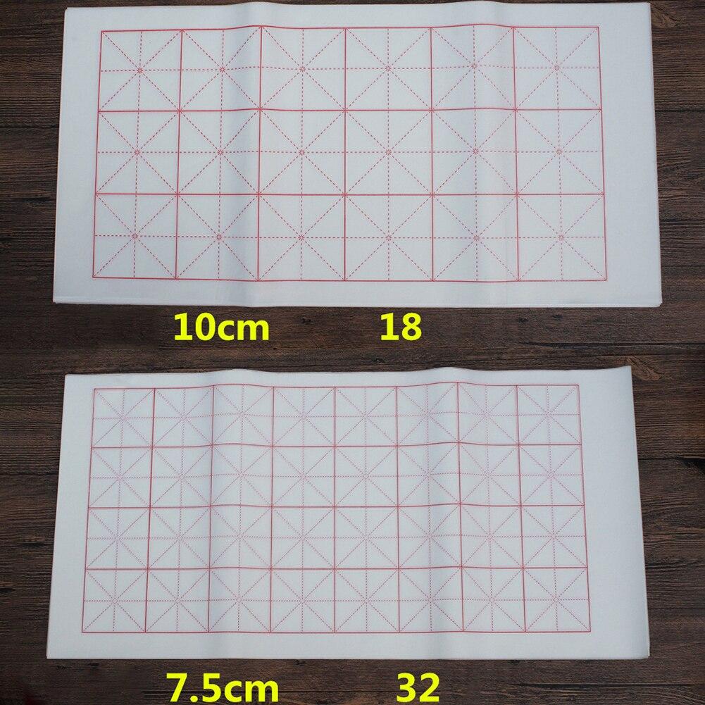 100 шт сырье/полусырье пересекающиеся каллиграфия рисовая практика суань бумага 2019HOT