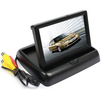 ANSHILONG HD 4 3 inch TFT LCD Color Display Foldable Car Monitor for Rearview font b