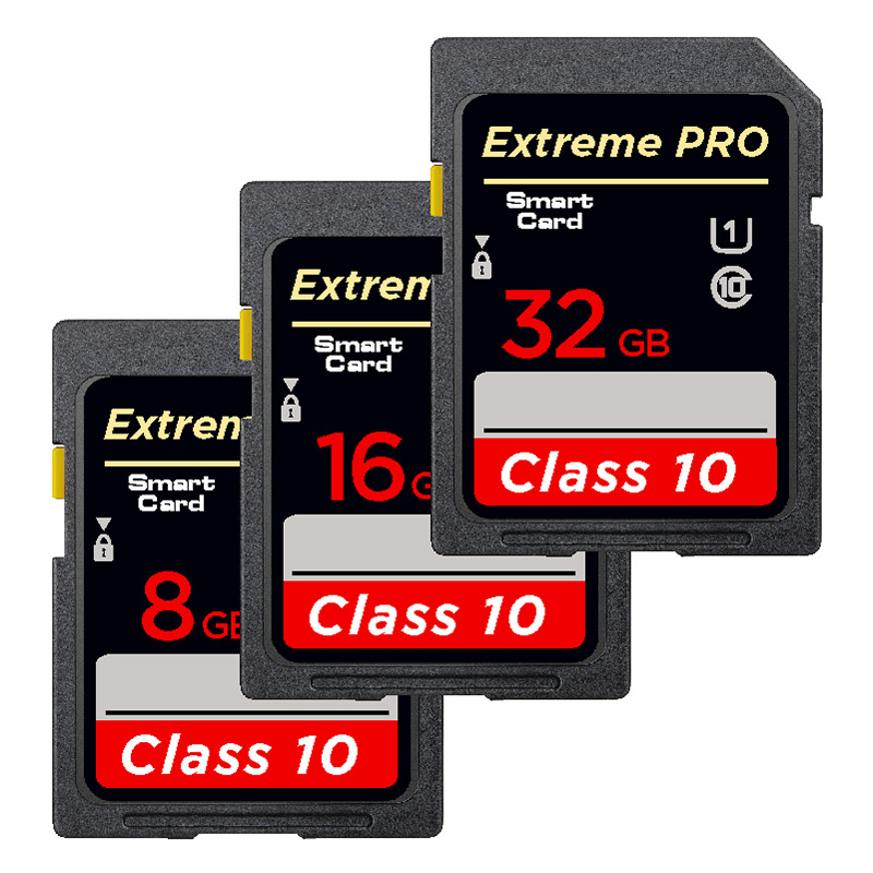 Image 3 - Flash 32GB 16GB SDHC   64GB 128GB 256GB SDXC WiFi SD Card UHS I Class 10  Flash Memory Card For Digital Camera-in Memory Cards from Computer & Office