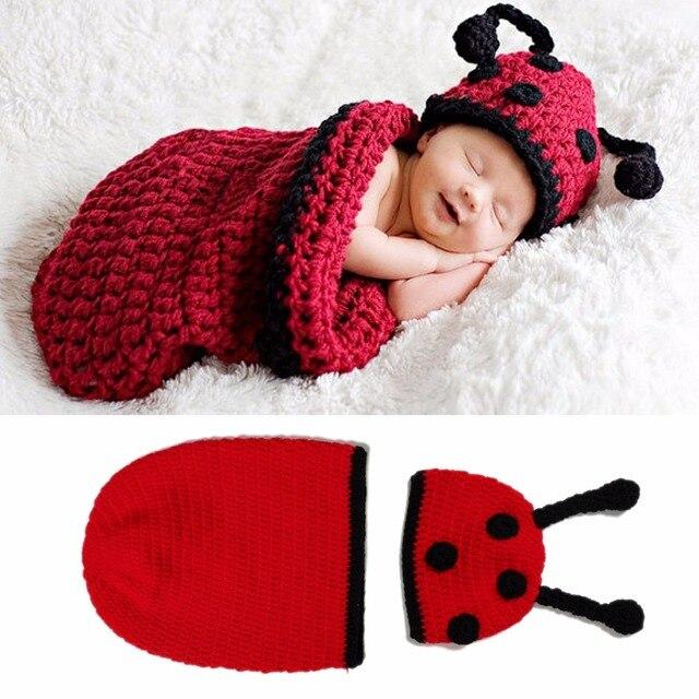 Vaina de tejido a mano Del Bebé Recién Nacido Del Ganchillo Animal ...