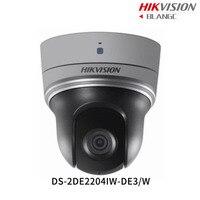 In Stock Hikvision Original English WIFI PTZ DS 2DE2204IW DE3 W 2MP 4X Mini IP PTZ