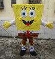 Свободный Размер Доставка Взрослых Губка Боб Костюм Талисмана Губка Боб Мультфильм Костюм