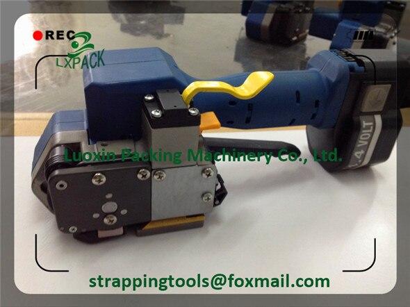 Ручные инструменты с питанием от батареи по самой низкой цене, полностью полуавтоматическая сварка и режущий ремешок с одним нажатием кноп