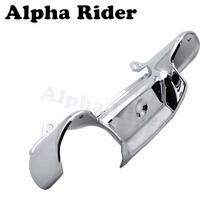 ABS Chrome Motorcycle Front Center Fork Cover Shield Fairing Body Guard for Honda GL Goldwing 1800 GL1800 2001 2011