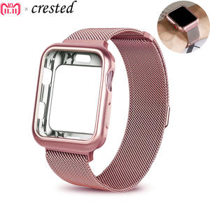 CRESTED case strap for Apple Watch bracelet wrist watchband