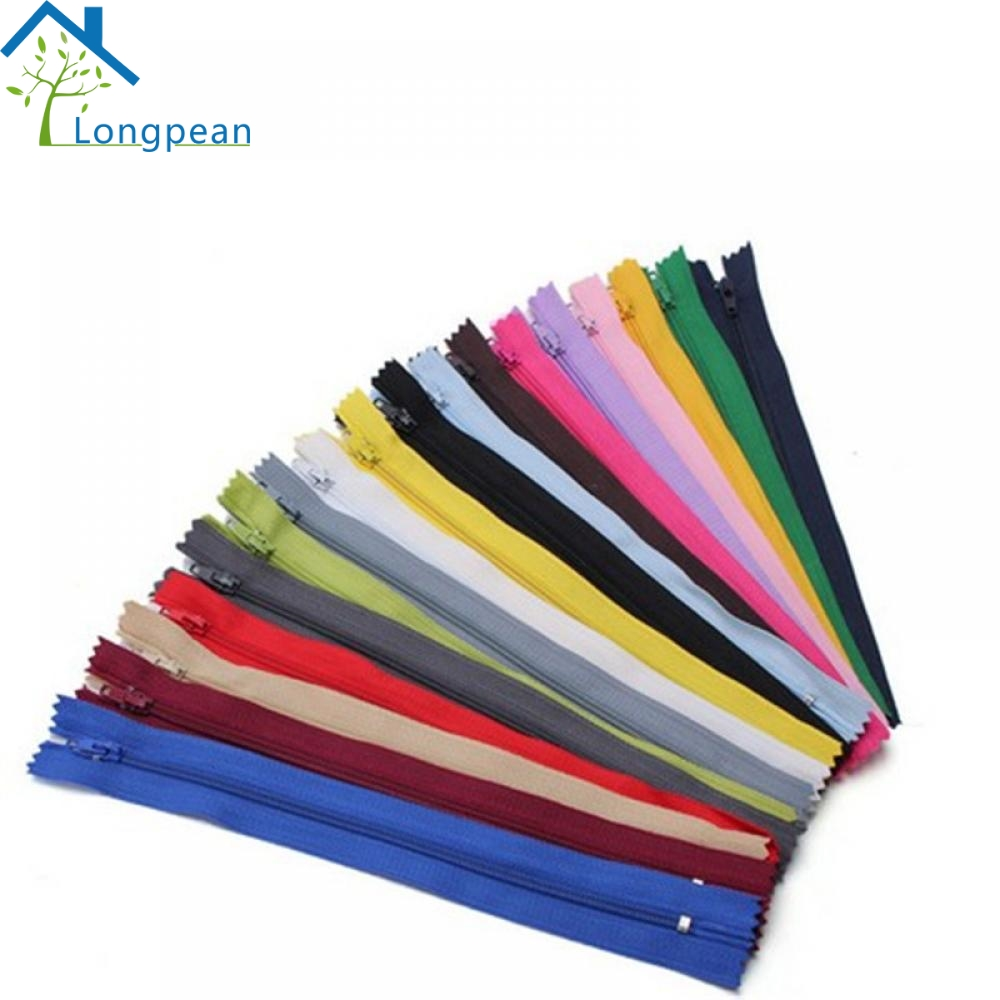 10PCS Practical Nylon Good Zippers Tailor Sewer Craft 9 Inch Crafter FGDQRS