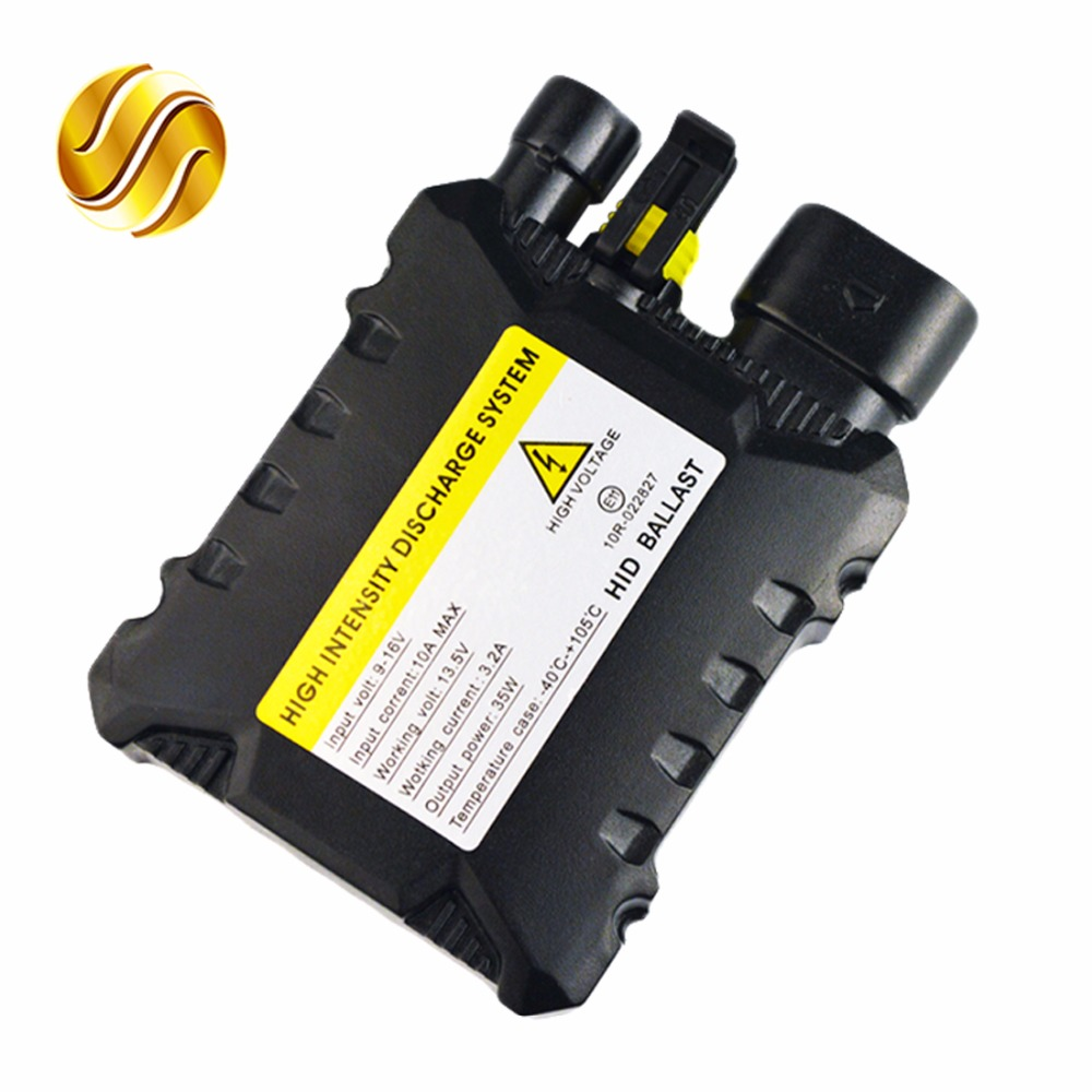 flytop DC HID XENON Ballast 12V 35W for Car HID Conversion Kit Replacement Light Bulb Cheap replacement 55w car hid ballast dc 9 16v