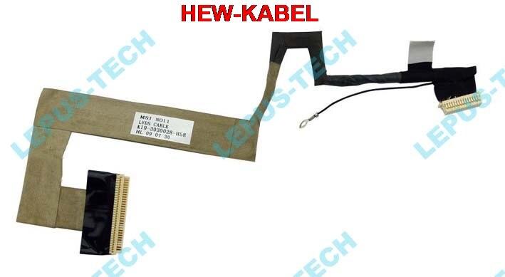 NEW 5 PCS LCD CABLE FOR MSI U100 U110 U90 U115 U120 U130 MS-N011X N011 LCD K19-3030028-H58 LVDS FLEX VIDEO CABLENEW 5 PCS LCD CABLE FOR MSI U100 U110 U90 U115 U120 U130 MS-N011X N011 LCD K19-3030028-H58 LVDS FLEX VIDEO CABLE