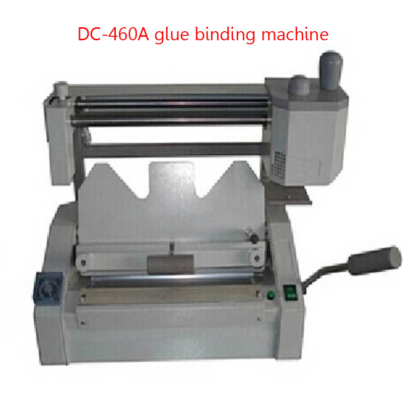 DC 460A Book Binding Machine Desktop Glue Binding Machine