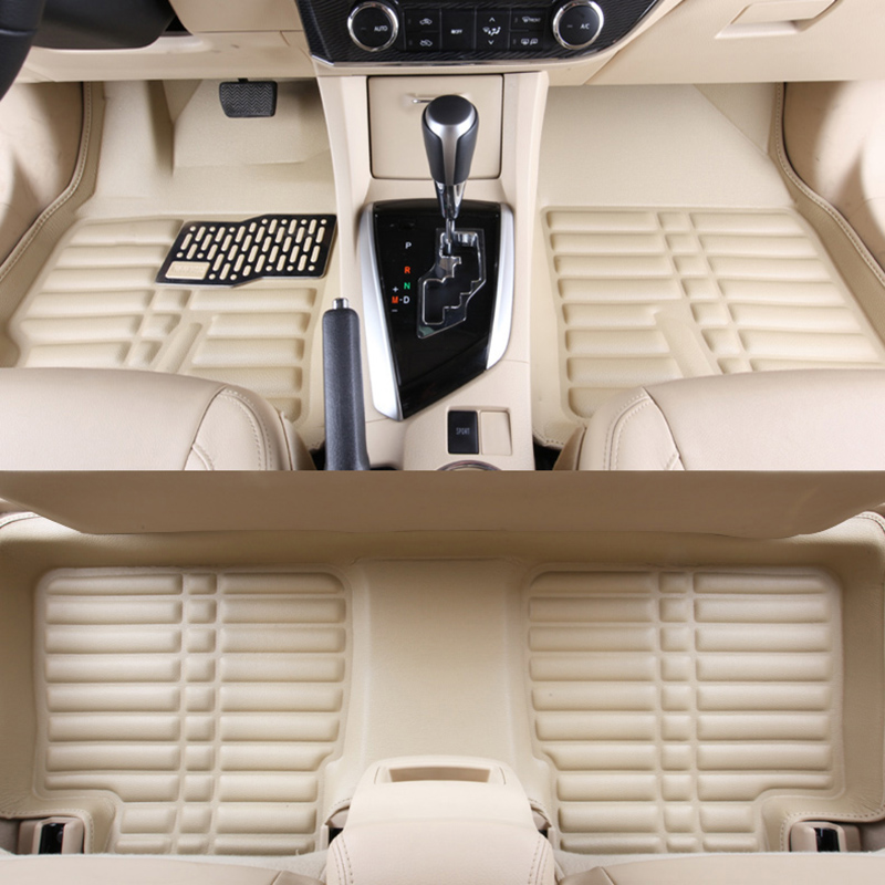 Car floor mats for fiesta, car mat black beige gray brown car floor mats for camry car mat black beige coffee gray brown
