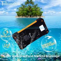 Tollcuudda 10000mah Power Bank Portable External Battery Universal Mobile Phone Charger USB Powerbank For Phones