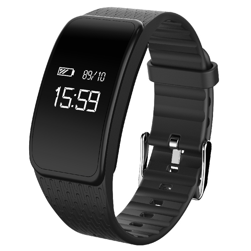 D W L Smart Bracelet A59 Blood pressure monitoring fitness tracker Intelligent heart rate Wristband for