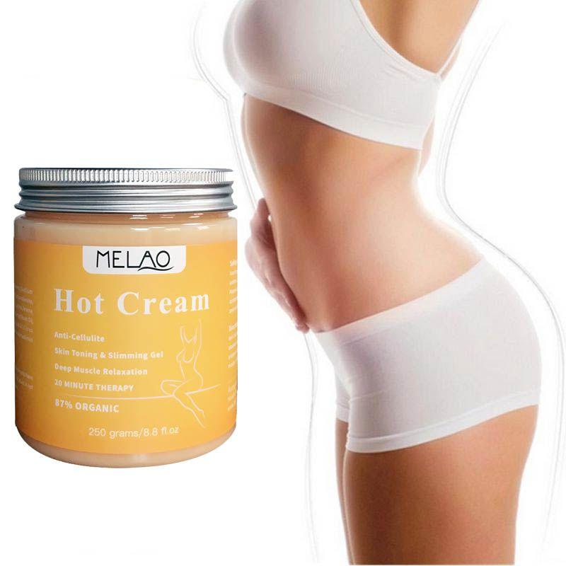 Slimming Cream Anti Cellulite Cream Fat Burning Slimming Gel Warm Massage Body Weight Loss Cream