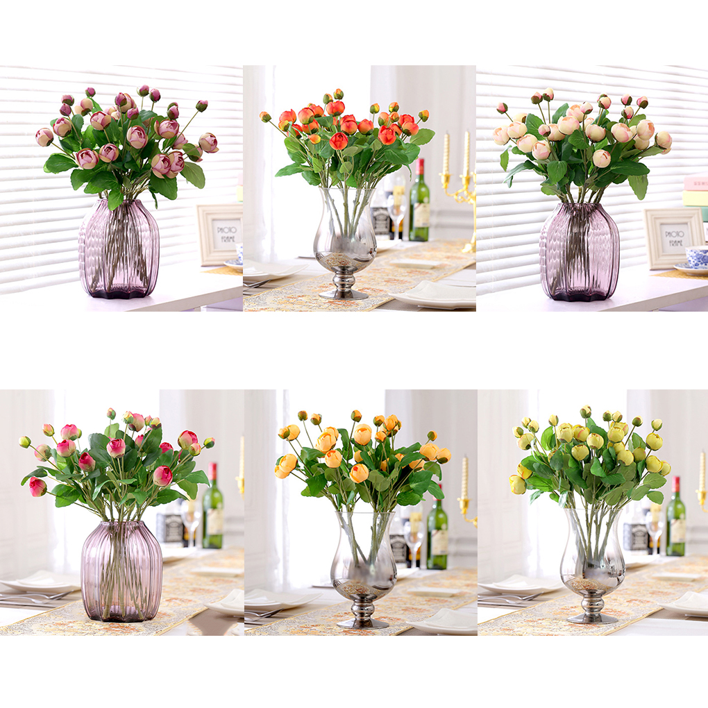 2017 simple and fresh artificial silk flowers peony bud 3 heads 2017 simple and fresh artificial silk flowers peony bud 3 heads roses bouquet wedding home decoration in artificial dried flowers from home garden on mightylinksfo