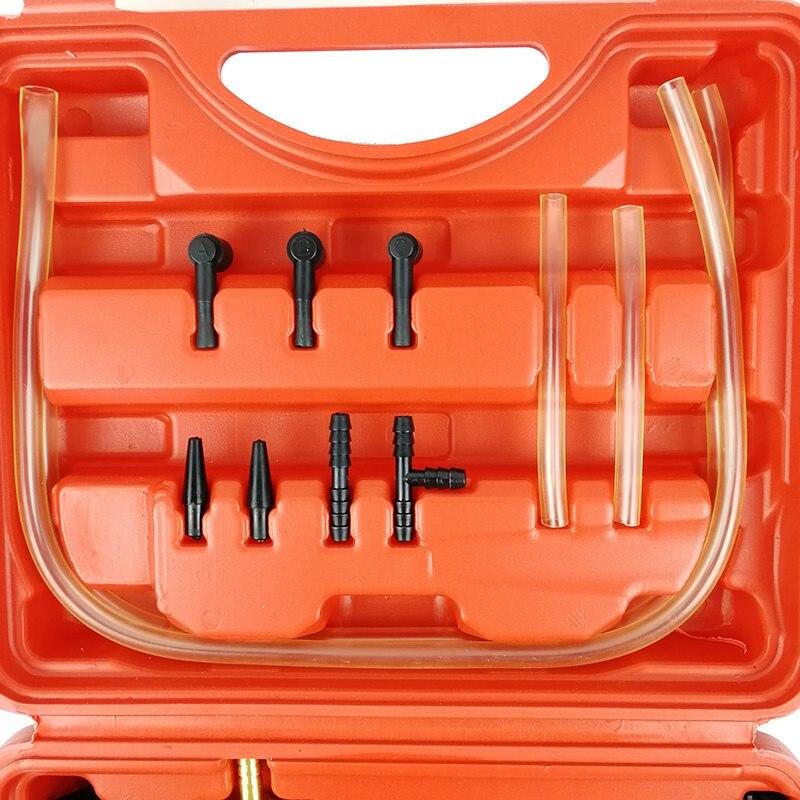 VicTsing 2 in 1 Car Handheld Vacuum Pressure Pump Tester Set Brake Fluid Bleeder Bleeding Kit DIY Brake Pressure Vacuum Gauge (13)