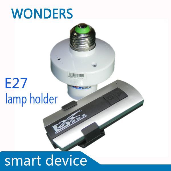 New smart device E27 lamp holder 190 260V Wireless ON OFF Lamp font b Remote b