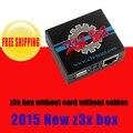 2015 Mais Novo única caixa z3x sem cartão inteligente sem cabos