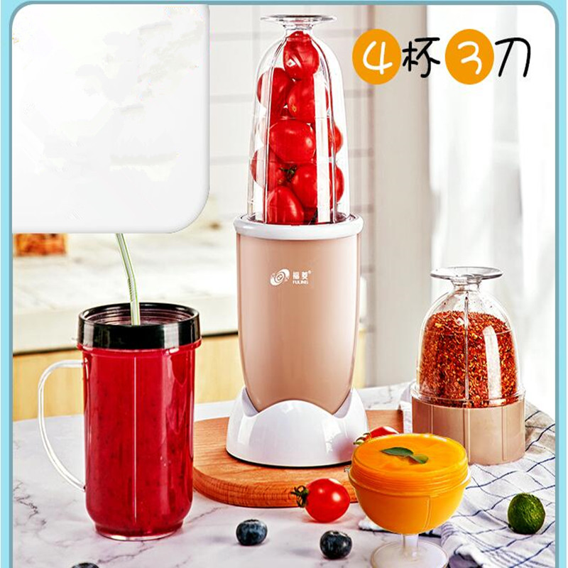 220V Household Electric Juicer Multifunctional Food Mixer Vegetable Fruit Juice Maker High Quality Juicer(Only White Color Now)