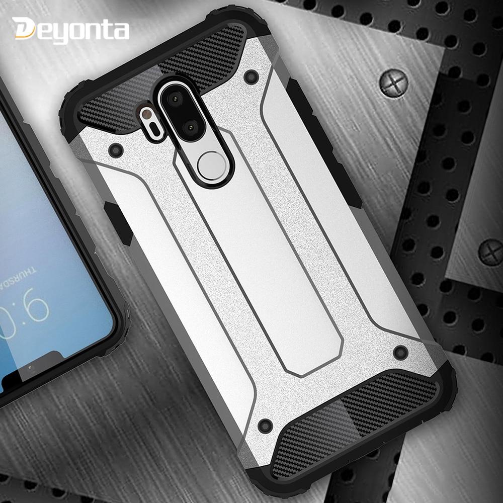 Hard PC Case For LG G6 G5 G7 Cases Rugged Armor Hybrid Anti-fall Phone