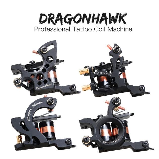 Comprar ahora 4 piezas profesional de máquinas de tatuaje Dragonhawk ...
