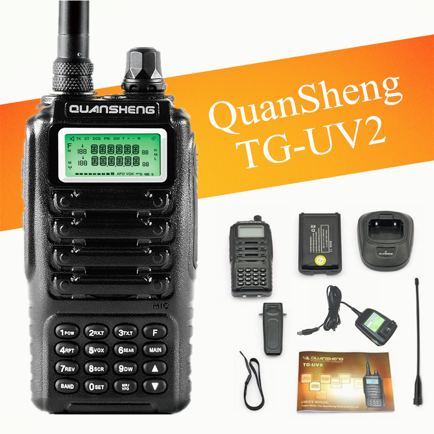 bilder für Dual band 2 way radio dual standby-dual-display QUANSHENG TG-UV2 mit FCC ce-zertifizierung Walkie Talkie