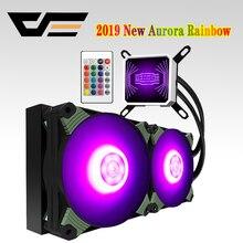darkFlash Aigo PC Case Water Cooling Computer CPU Fan T120/240 Water Cooler Heatsink Integrated Water Cooling Radiator Intel/AMD