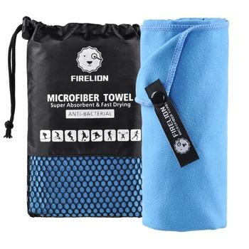 Ręczniki z mikrofibry do podróży sport szybkoschnący super chłonny Ultra miękki lekki Camping Gym Beach pływanie piesze wycieczki joga tanie i dobre opinie Gładkie barwione Poliester bawełna Quick-dry