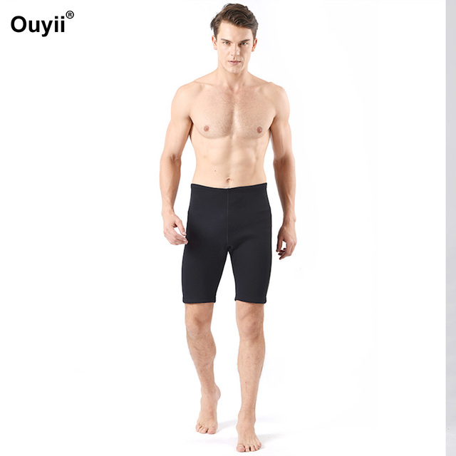 52531fc3c7a02 Man Wetsuit Shorts 2018 Men Diving Pants Boxer Swimsuit Trunks Swimming  Beach Shorts Surfing Wet suit Snorkeling Swimming Suits