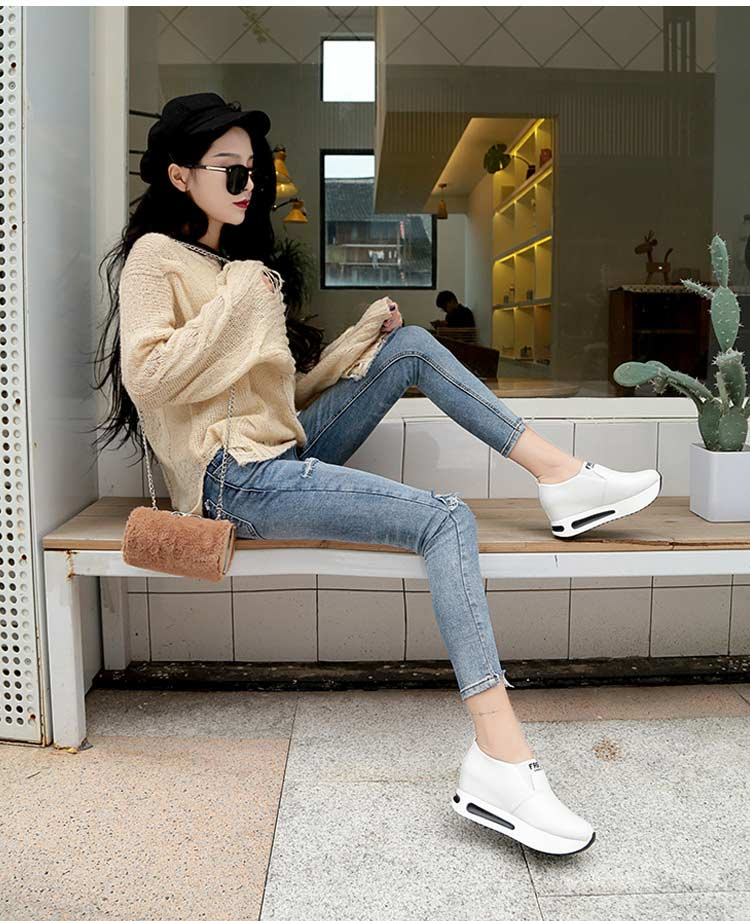 Vulcanize shoes women casual shoes 2019 new fashion solid pu women sneakers slip-on breathable shoes woman zapatos de mujer (13)