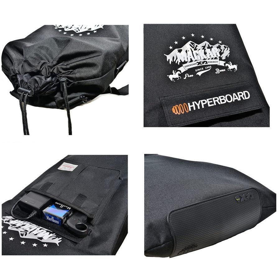 Sac de planche à roulettes électrique professionnel 105x40 cm sac à dos de planche à roulettes Double culbuteur sac à cordon multifonctionnel - 6