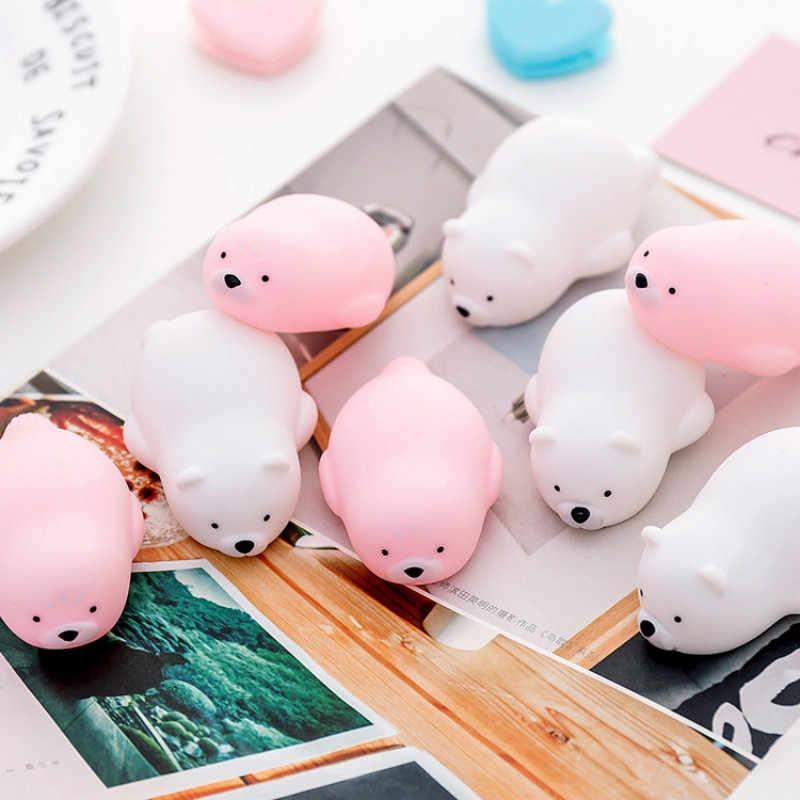 1 шт. милые животные Пинки Свинья Детские Игрушки для ванны для детей сжимаемые звук даблинга игрушки Дети клоун Рыба ванная комната Щепка брызгающая игрушка