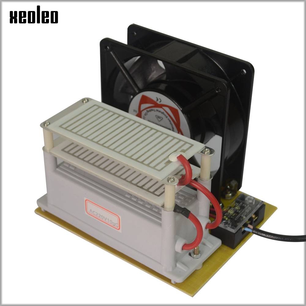 все цены на XEOLEO 10g/h Ozone generator with fan 220V/110V Ozone Air sterilizer Air Purifier treatment Disinfection machine part Long Life