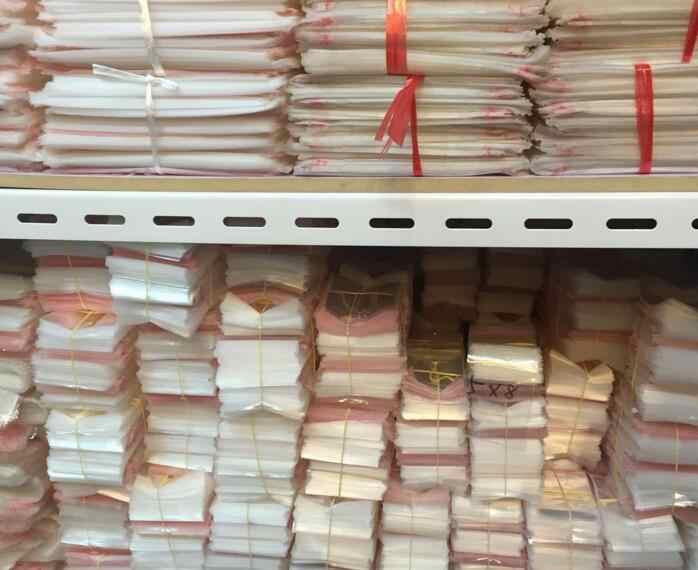 500 Pcs/13cmx20cmTransparent Adhesive Seal Kantong Plastik Opp Poli Penyegelan Diri Jelas Kantong Plastik untuk Hadiah Kemasan Tas