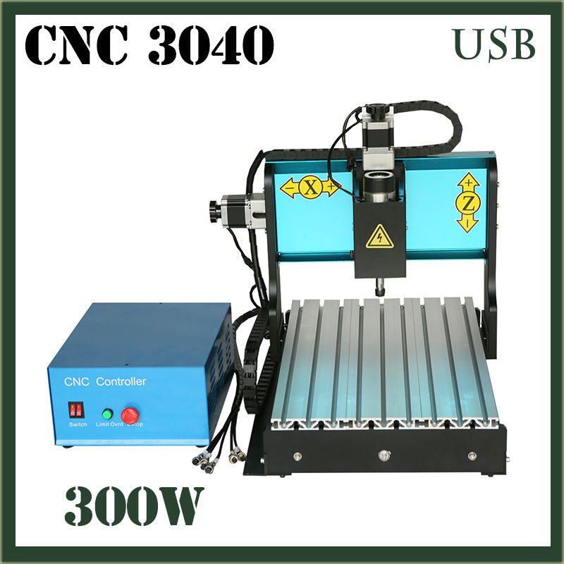 JFT CNC 3040 Router 3 Axis 300W Mini Router With USB 2.0 Port With Water Tank Wood Ball Screw Engraving Milling Carving Machine 3 axis cnc machine 3040 cnc 800w usb port metal engraving machine with water sink