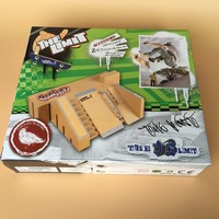 finger skateboard ramp Skate Park Spare Part Fingerboards Set Teaching Deck Fingerboard Fingerboard Ultimate Parks Platform Toys