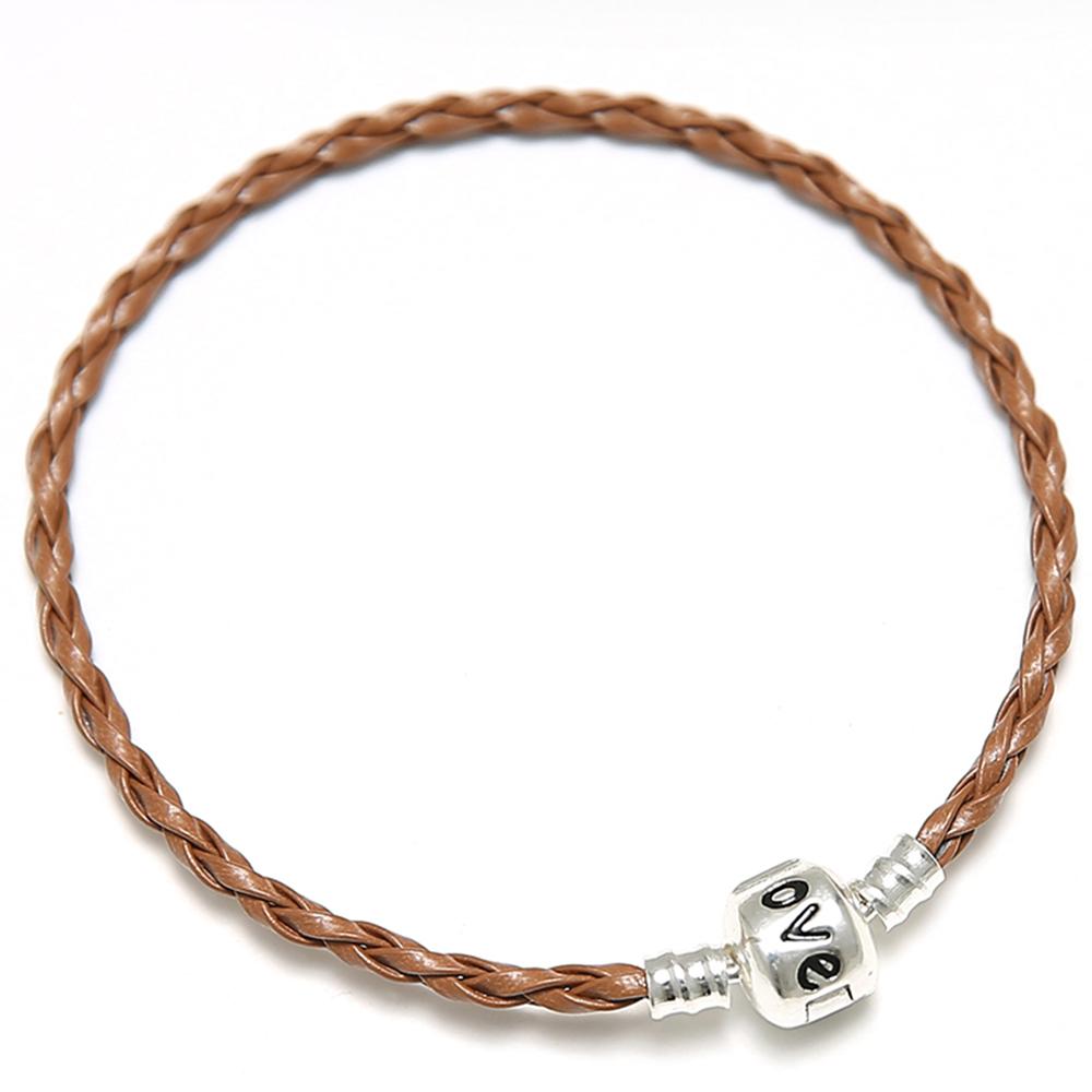 DIY European Leather Bracelet With A Clasp pics