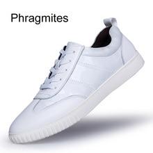 Phragmites European Summer Breathable Krasovki ShoesSneaker Brand Fashion White Sneakers Male Tenis Masculino