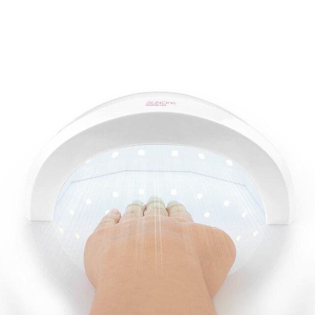 Профессиональные sunone лампы сушилка для ногтей светодиодные уф-отверждения гель свет Ногтей Инструмент Машина двойного источника света нм + нм